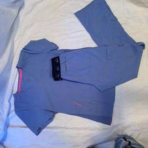 Koi Lite: Ceil Blue; Women's Scrub Set